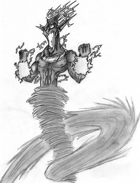 Power of mana la galerie - Dessiner le vent ...